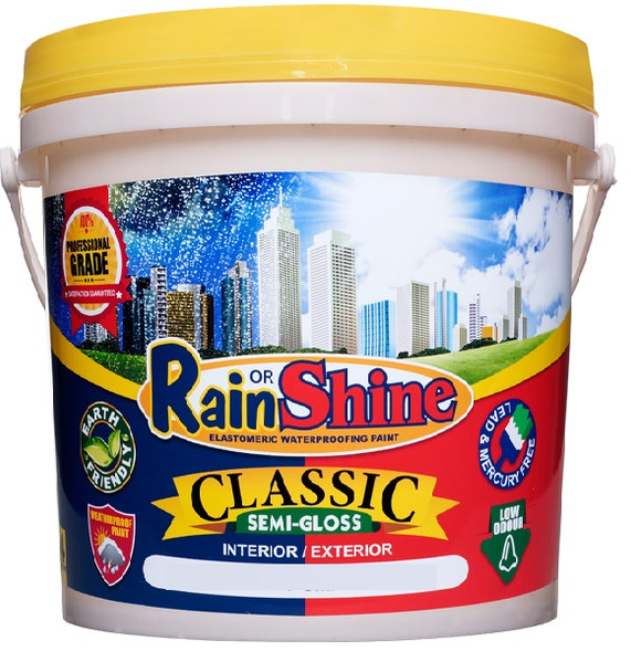 RAIN OR SHINE ROS-CL-527 CLASSIC SEMI-GLOSS WARM YELLOW