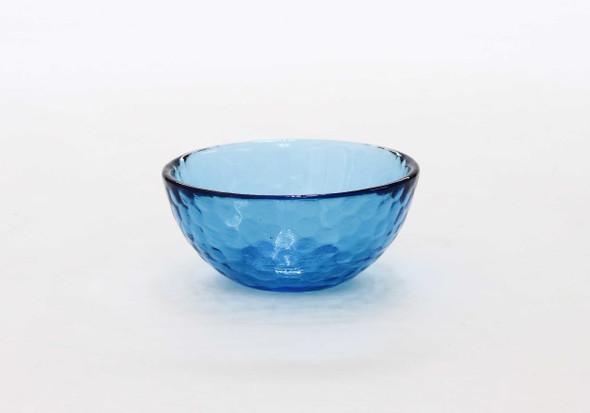 SMALL ROUND BOWL AQUA BLUE