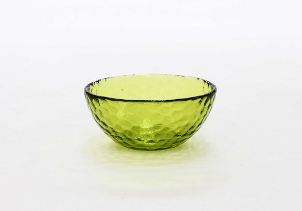 SMALL ROUND BOWL LIME GREEN