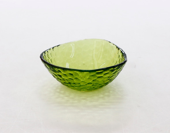 RECTANGULAR SNACK BOWL LIME GREEN