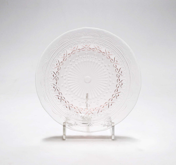 8.5IN ROUND PLATE PINK