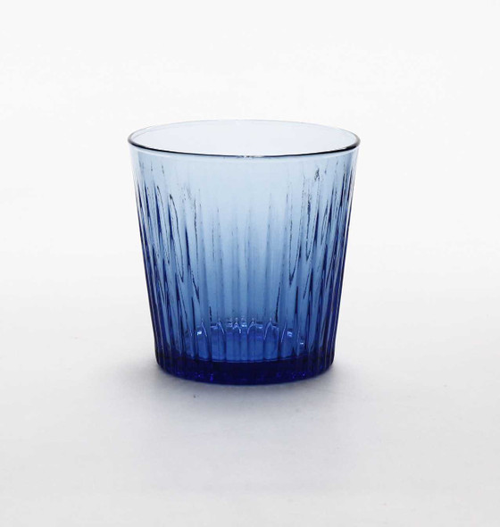 8 OZ. ROCK GLASS  NAVY BLUE
