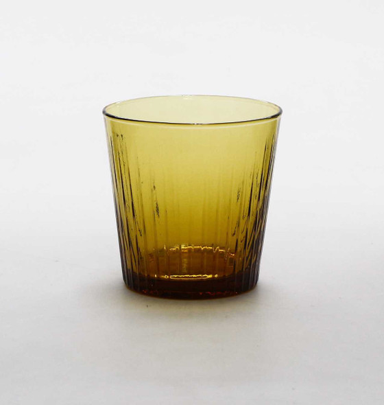 8 OZ. ROCK GLASS  AMBER
