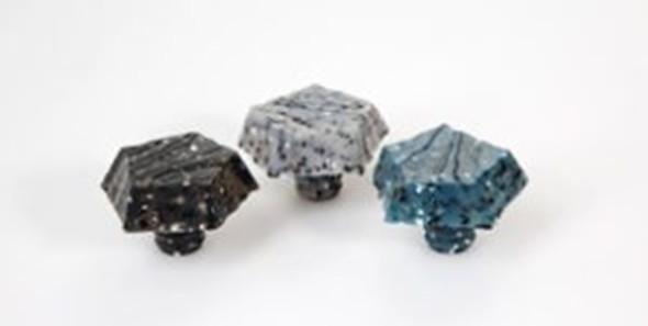 GRANITE BOTTLE STOPPER - BLACK, GRAY, BLUE