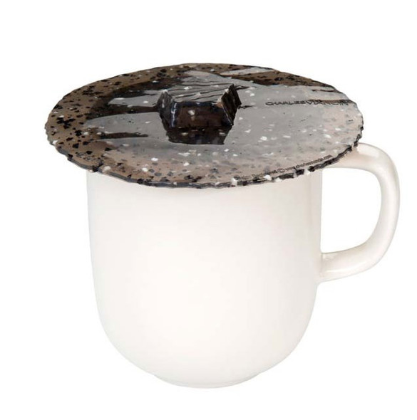 "4"" Granite Lid Drink Cover - Set of 2"
