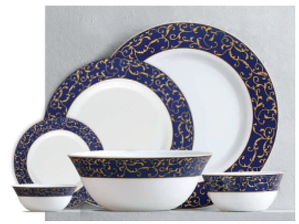 "Sovrana Anassa Blue 11.5"" Full Plate"
