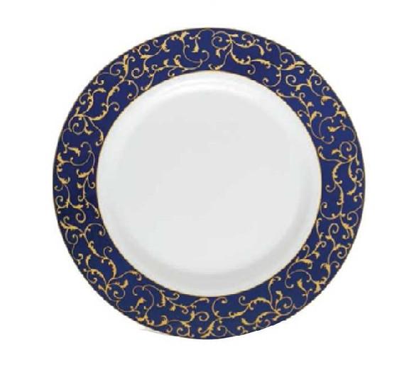 "Sovrana Anassa Blue 9"" Soup Plate"