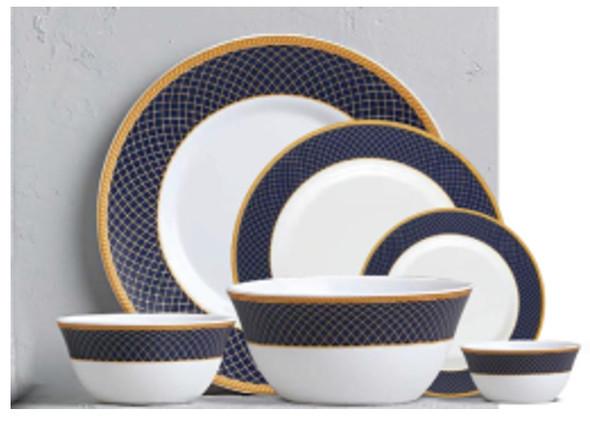 """Sovrana Regent Blue 11.5"""" Full Plate"""