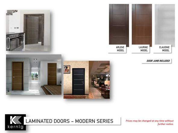 KERNIG Laminated Door & Jamb Set Laurine 2032