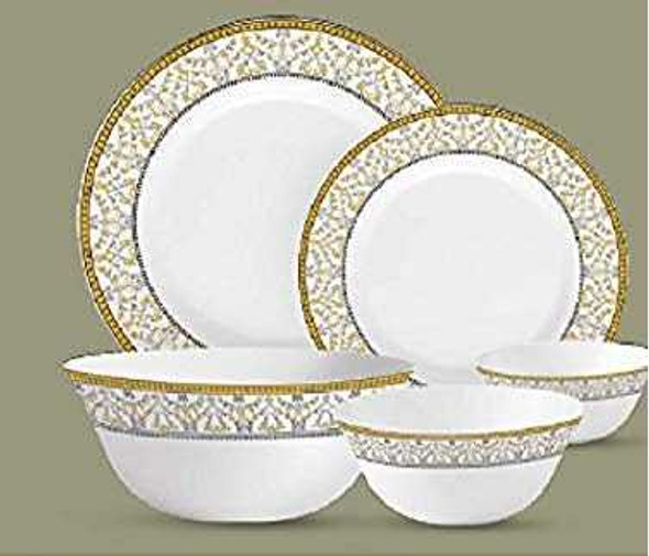 "Sovrana Moroccan Gold 11.5"" Full Plate"