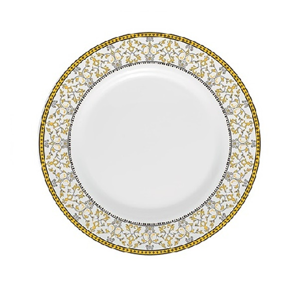 "Sovrana Moroccan Gold 9"" Soup Plate"