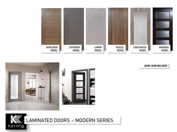 KERNIG Laminated Door & Jamb Set Constancio KCN34