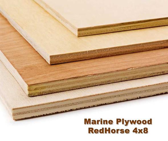 Redhorse Marine Plywood 4'x8'