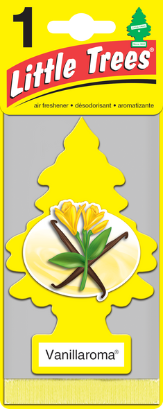 LITTLE TREE AIR FRESHENER TRAD. VANILLAROSA