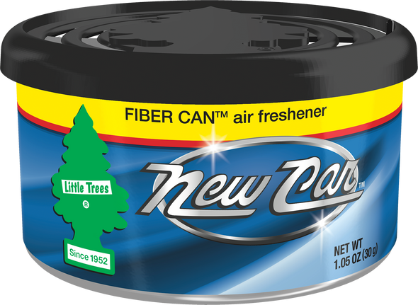 LITTLE TREE AIR FRESHENER FIBERCAN NEW CAR