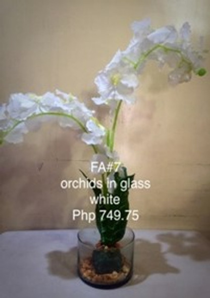 Artificial Orchids Flower Arrangement