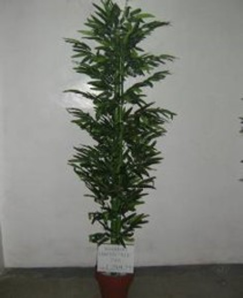 Artificial Plant 6ft Bamboo Green Trunk