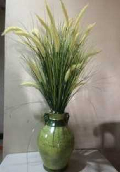 Artificial Fountain Grass Arrangement
