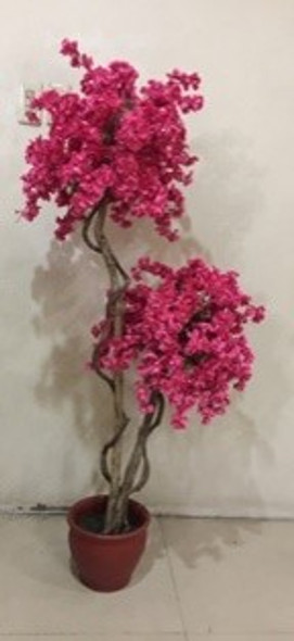 Artificial Plant Cherry Blossom Bush Tree