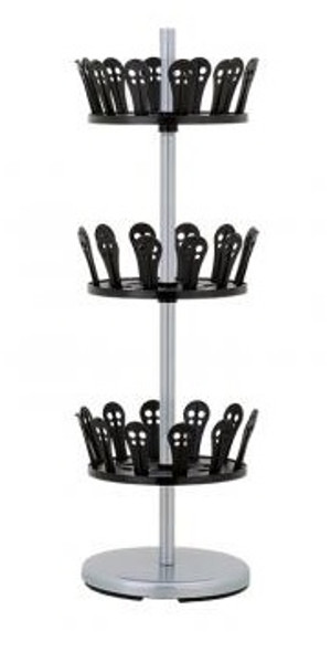 3-Tier Revolving Shoe Stand