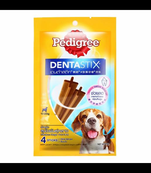 PEDIGREE DENTASTIX FOR MED DOG 98G