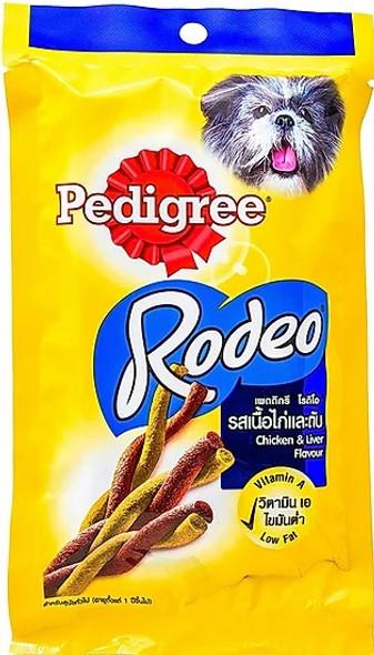 PEDIGREE PET FOOD RODEO CHICKEN & LIVER FLAVOUR 90G