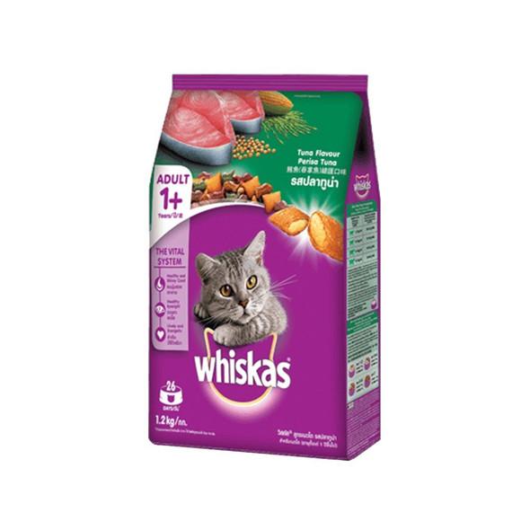 WHISKAS CAT FOOD TUNA 1.2KG