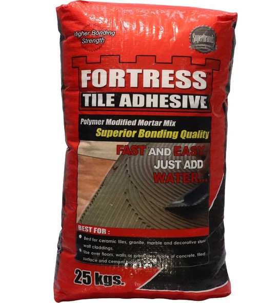 FORTRESS TILE ADHESIVE 25KG