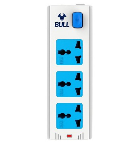BULL EXTENSION CORD CONVENIENT BOARD W/SWITCH GNIN-413K