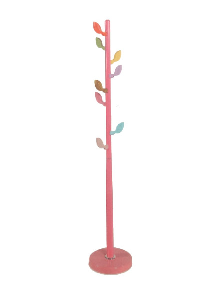 HOOK STAND WITH LEAF DESIGN