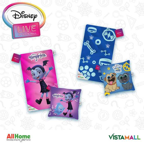 Disney Jr. Plush Blanket & Pillow Set