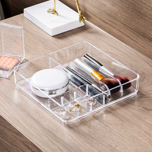 A1313300 ANNETTE STACKING TRAY W/ 5 COMPARTMENT