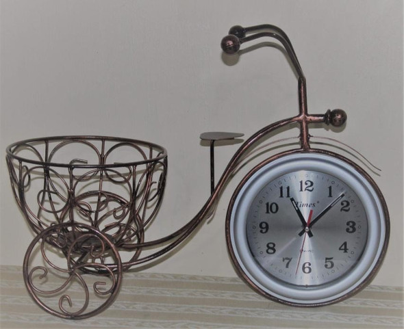 Decorative Clock Mile Bronze BC-177 20X9X14