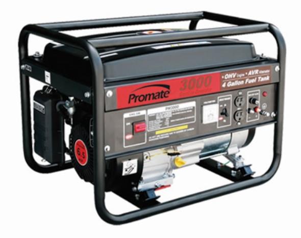 PROMATE PORTABLE GAS GENERATOR PM3000 6.5HP