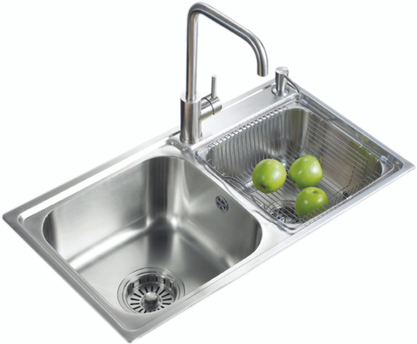 SENTO ST-03 STAINLESS STEEL KITCHEN SINK