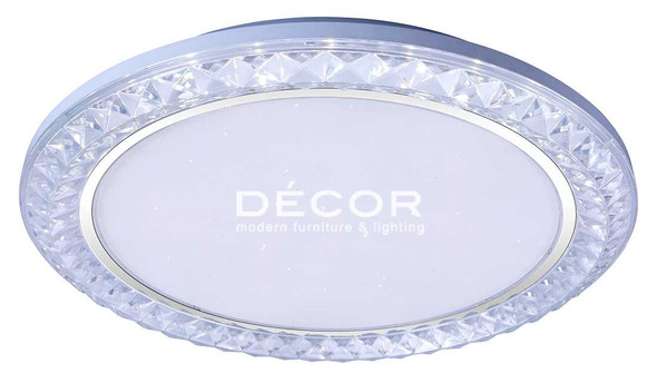 DECOR DIAMOND CEILING LAMP 3COLOR 40W