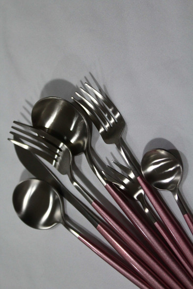 Onaida Silver Pink Cutlery
