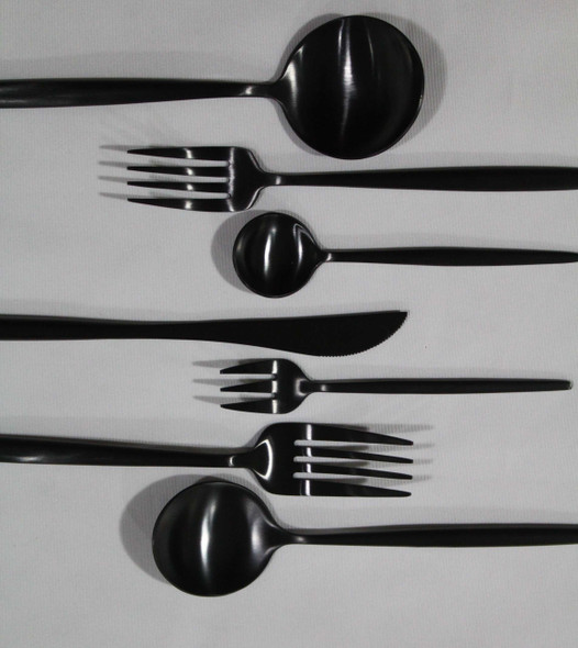 Onaida Black Cutlery