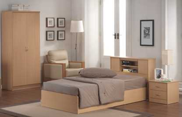 VENICE 36X75 BEDROOM PACKAGE  Inclusions:36x75 Bedframe1pc Night Table2 Door Wardrobe Cabinet