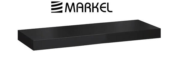 MARKEL WOODEN LEDGE SMALL BLACK 590X200X15MM
