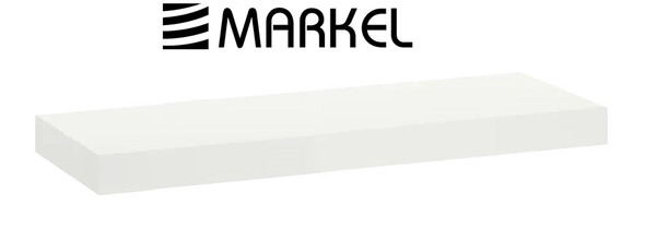 MARKEL WOODEN LEDGE SMALL WHITE 590X200X15MM