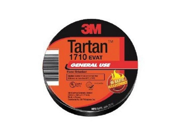 3M TARTAN ELECTRICAL TAPE VINYL 3M17101806