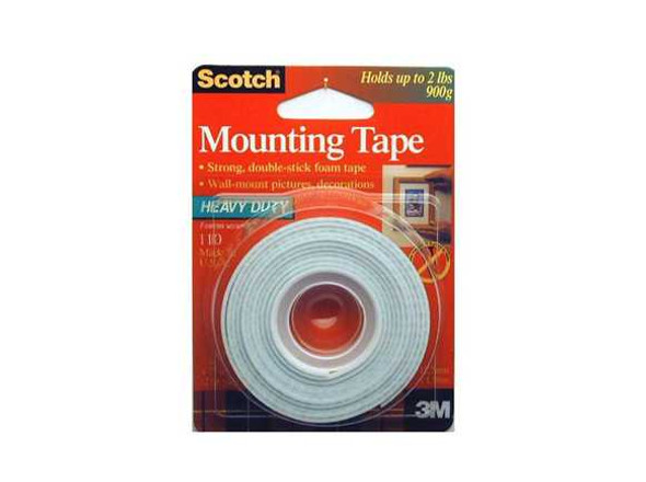 3M SCOTCH MOUNTING TAPE 3M1105A