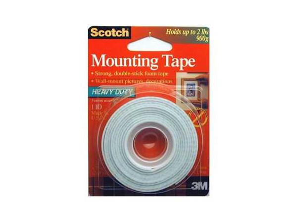 3M SCOTCH MOUNTING TAPE 3M1102A