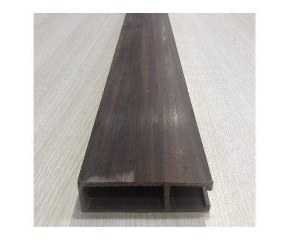 Eceil PVC Baffle Ceiling Dark Oak
