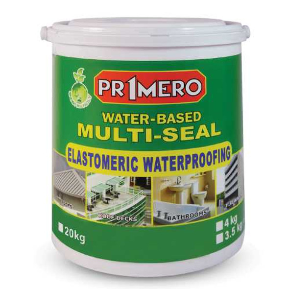 PRIMERO MULTI-SEAL ELASTOMERIC WATERPROOFING PAINT
