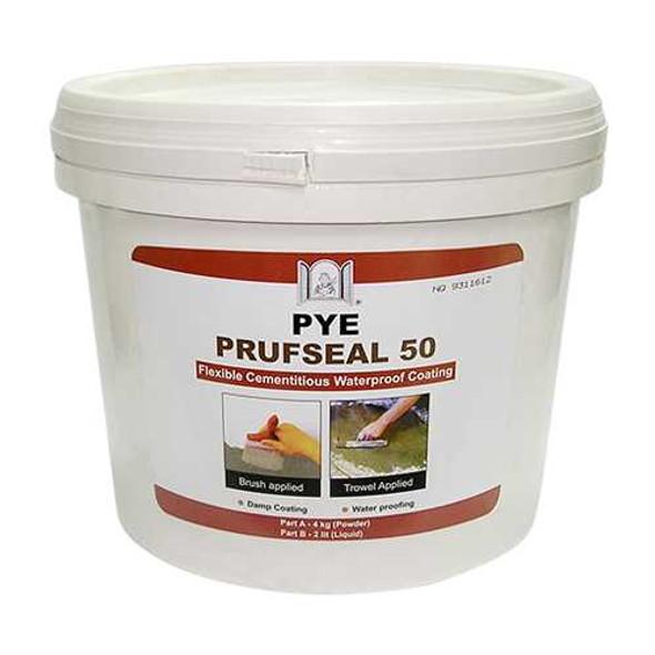 PYE PRUF SEAL 50 4kg/2L