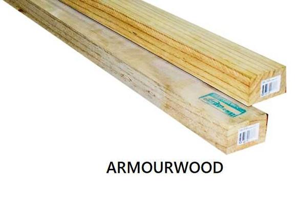 "Armourwood Framesaver S4S 2""x4"""