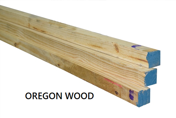 "Oregon Wood S4S 2""x8"""