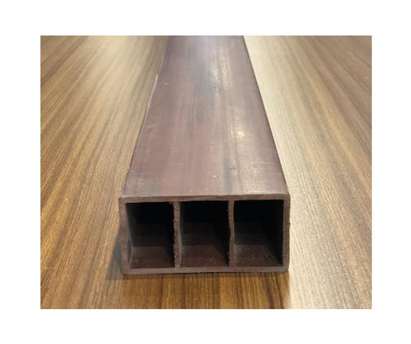 ECEIL PVC Baffle Wall Red Oak